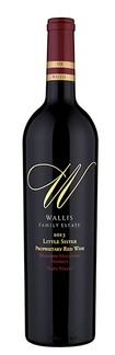2013 Wallis Family Estate Little Sister Proprietary Red 375ml (Half)